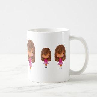 Little girls on a mug