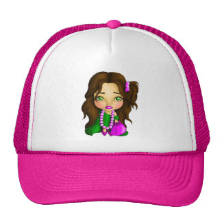 Little Glitz Mesh Hat
