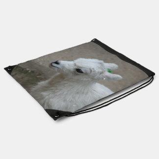 little Goat Drawstring Bag