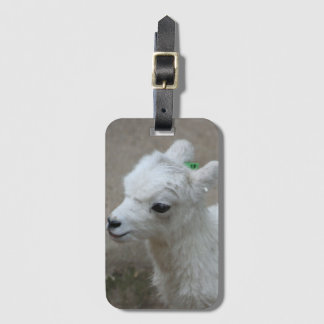little Goat Luggage Tag