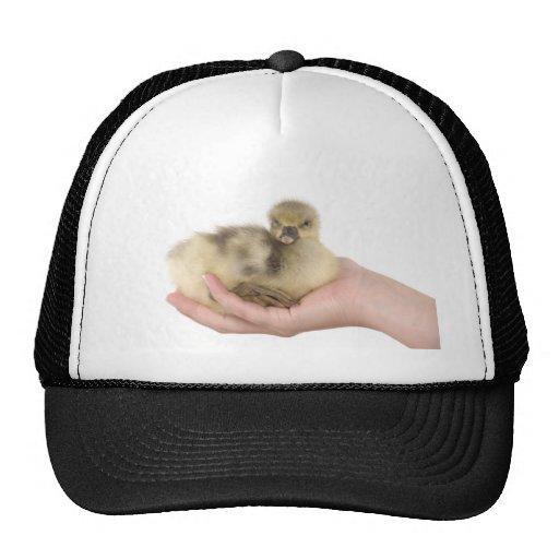 little goose in one hand trucker hat