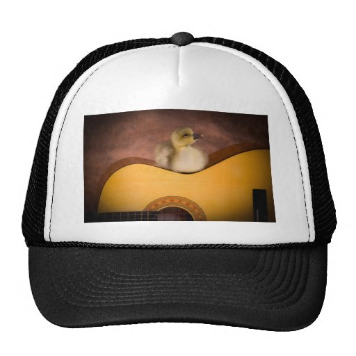 little goose one has guitar trucker hats