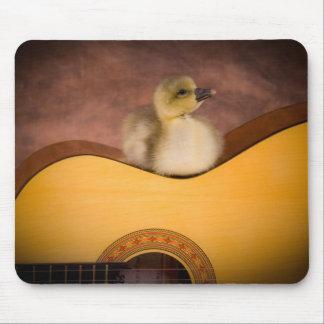 little goose one has guitar mousepad