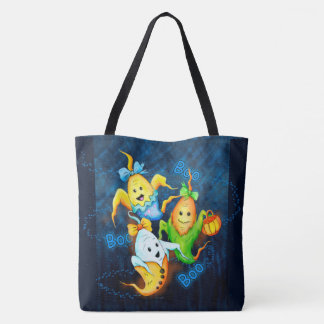 LITTLE GOSTS MONSTERS AllOver-Print Tote Bag Large