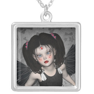 Little Goth Angel Necklace