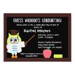 """Little Graduate Owl Invite 5"""" X 7"""" Invitation Card"""