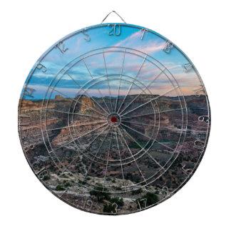 Little Grand Canyon Sunset - Wedge Overlook - Utah Dartboard