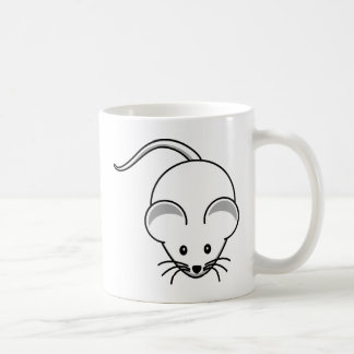 Little graphic mouse mug
