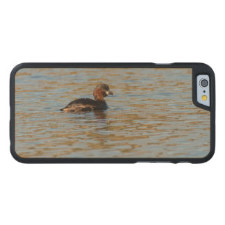 Little Grebe Carved Maple iPhone 6 Case