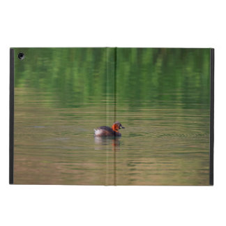 Little grebe duck in breeding plumage iPad air covers
