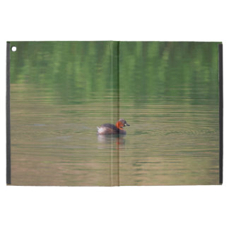 "Little grebe duck in breeding plumage iPad pro 12.9"" case"