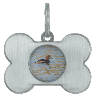 Little Grebe Pet ID Tag