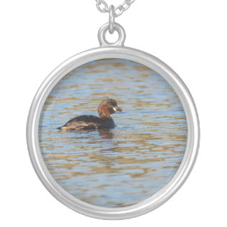 Little Grebe Silver Plated Necklace