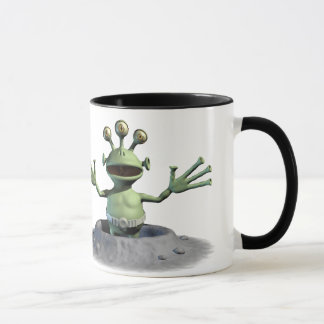 Little Green Alien Mug