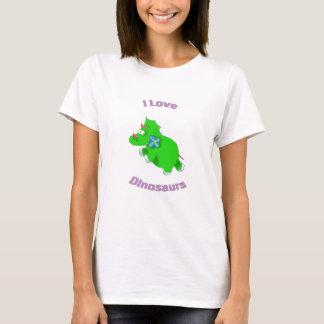 little green dinosaur ( i love dinosaurs) T-Shirt