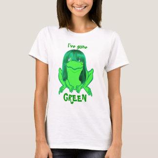 little green frog, I've gone, GREEN t-shirt