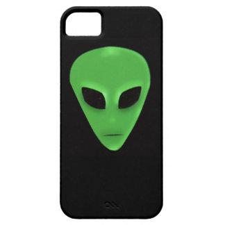 Little Green Man Alien Face iPhone 5/5S Case