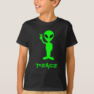 Little Green Man Dark Tee