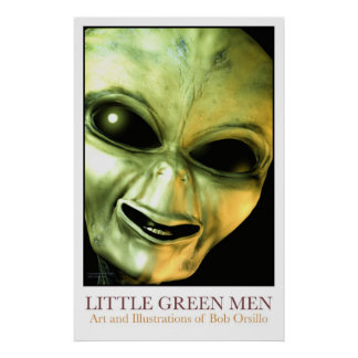 Little Green Men Poster