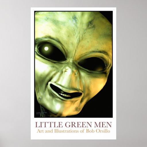 Little Green Men Poster