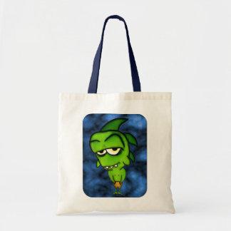 Little Green Monster Tote Bag Bags