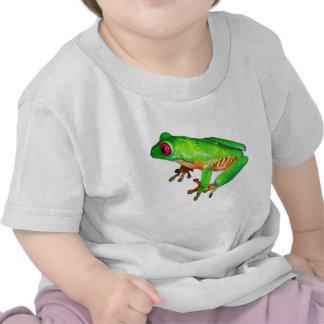 Little green tree frog t-shirt