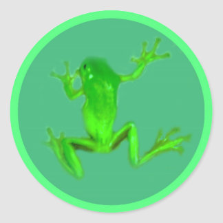 Little Greeny Froggy Stickers