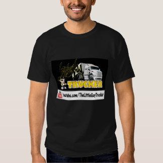 Little Guy Trucker T-Shirt BLACK