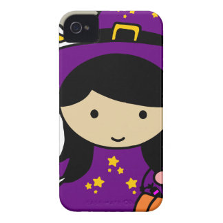 Little Halloween Witch iPhone 4 Case-Mate Case