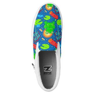 Little Happy Frog ~ Slip On Sneakers