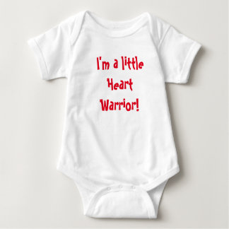 Little Heart Warrior! Baby Bodysuit