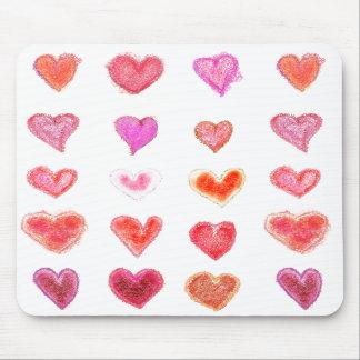 Little hearts mousepad