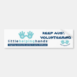 Little Helping Hands Bumper Sticker