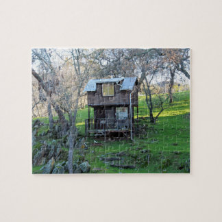 Little House and Tombstone Rocks Puzzle