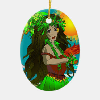 Little Hula Ornament