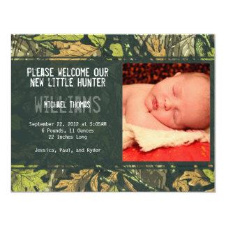 Little Hunter   Birth Announcements