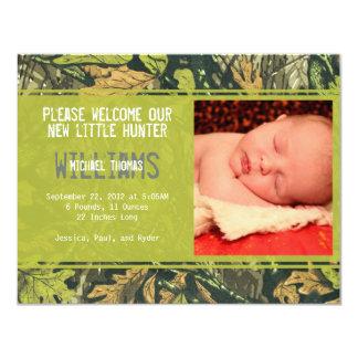 Little Hunter | Birth Announcements