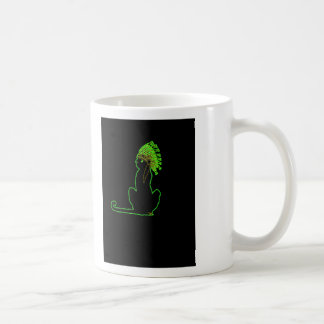 little Indian chief kitty cat Coffee Mugs