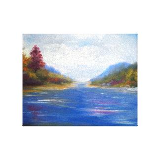 """Little Inlset"" Canvas Print by Robert M. Dominy"