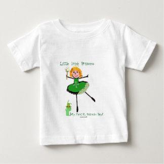 Little Irish Princess - My First St. Patrick's Day Baby T-Shirt