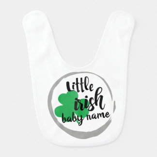 Little irish  St. Patrick's Day Cute  Bib