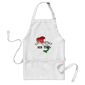 Little Italy New York Standard Apron