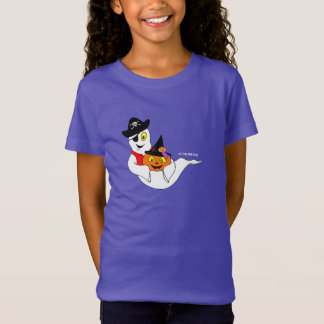 Little Jack & Boo Girl's PURPLE HALLOWEEN T-Shirt
