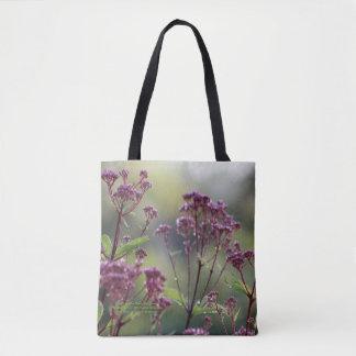 Little Joe Pye Weed Orange-red Daylilies Tote Bag