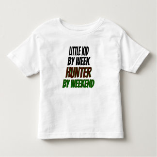 Little Kid Hunter Toddler T-Shirt