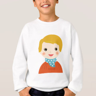Little kid in sweater / Xmas edition