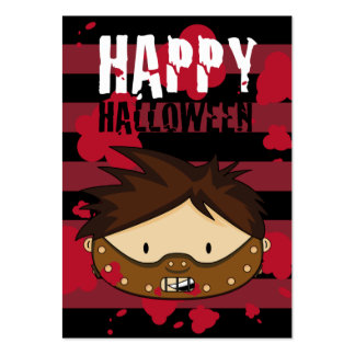Little Killer Halloween Bookmark Pack Of Chubby Business Cards