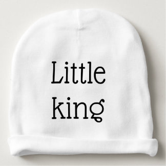 little king baby beanie