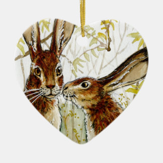 Little KIS design by Schukina 543 Ceramic Ornament