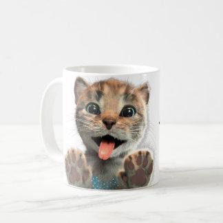 Little Kitten Licks - Mug